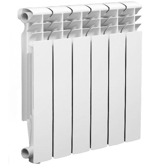 Радиатор алюминиевый  500х80мм